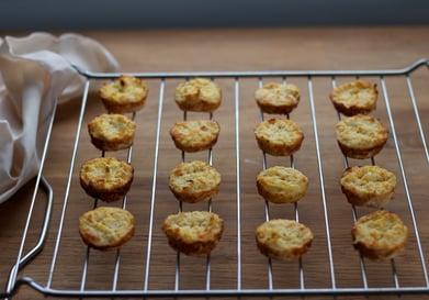 Healthy Cauliflower Biscuits
