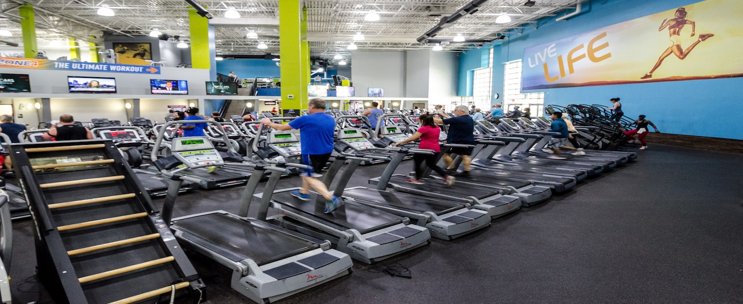 Onelife fitness greenbrier gym and health club