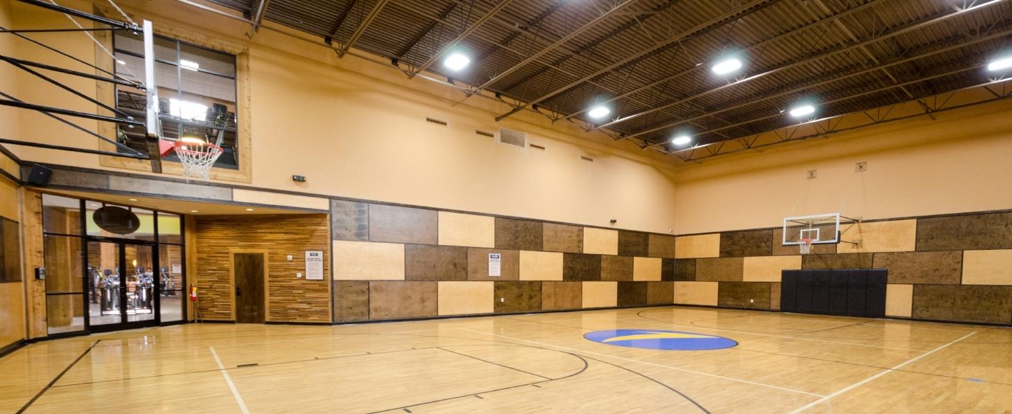 Newnan Sports Club Indoor Basketball Court