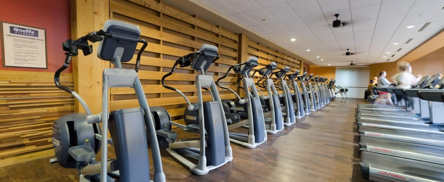 Newnan Sports Club Cardio Equipment