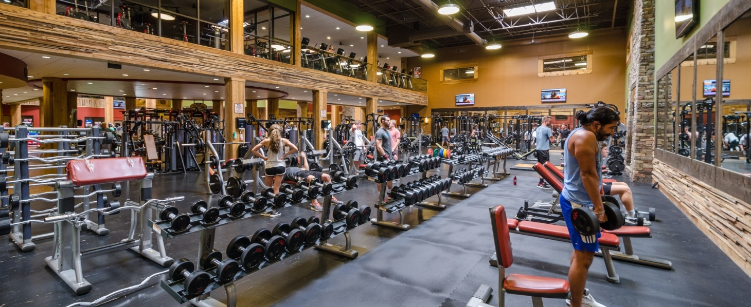 Vickery Sports Club Free Weights