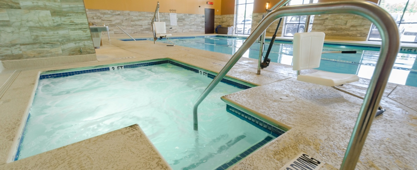 Vickery Sports Club Hot Tub