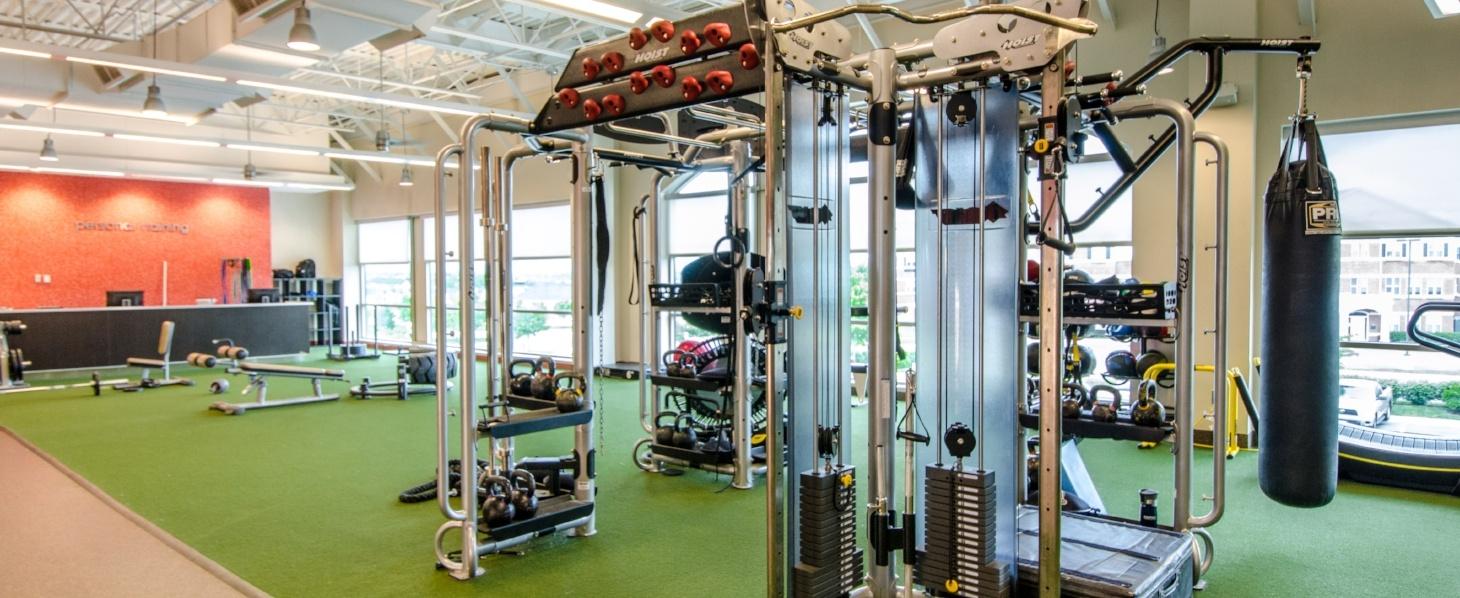 Gainesville Heritage Village Plaza Weight Training