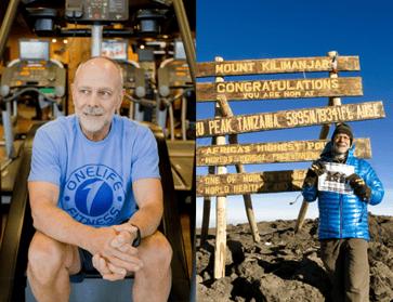 Onelife Fitness helped me climb Kilimanjaro