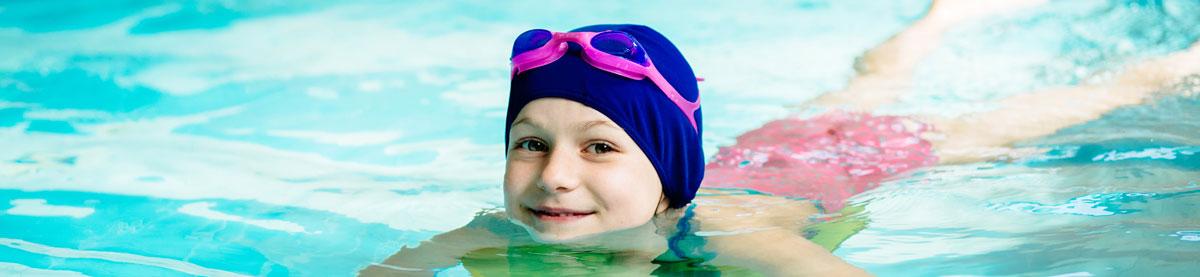 Kid Learning to Swim
