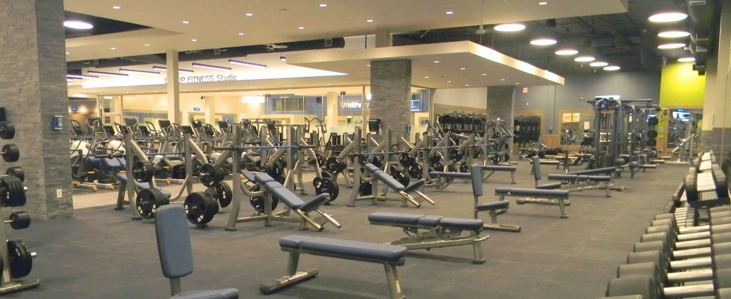 Onelife fitness perimeter gym and health club