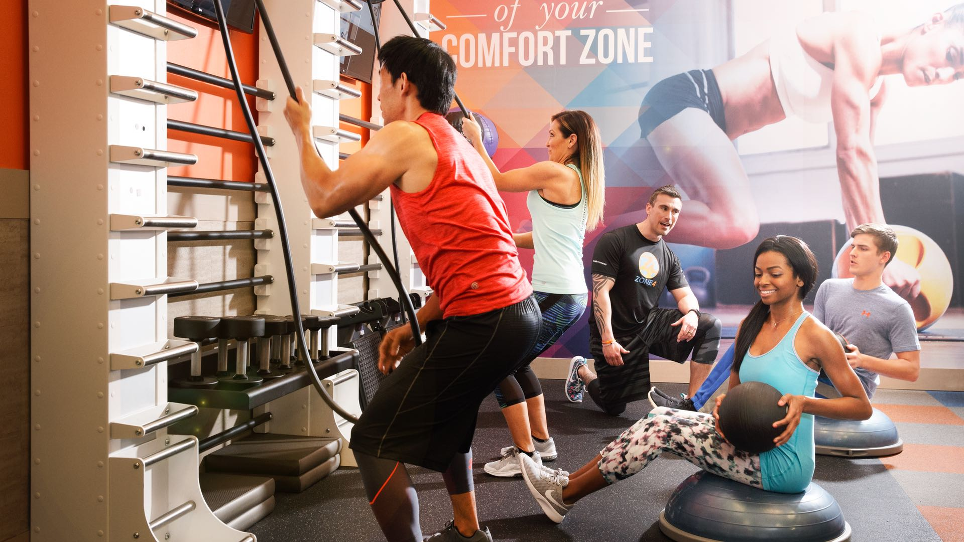 Onelife Fitness Gyms in Virginia, Georgia, Maryland and DC